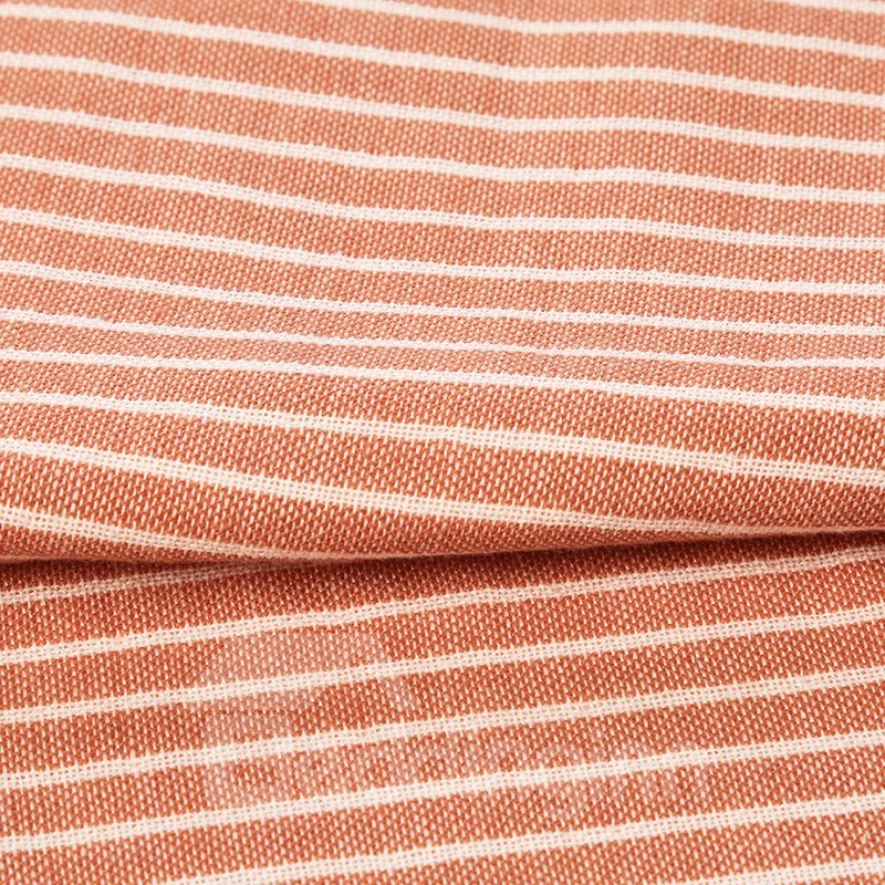 Concise Pinstripe Soft Cotton Face & Hand Towel