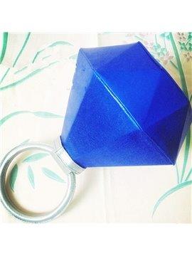 Creative Diamind Ring Shape Three Colors Option Hand Bag