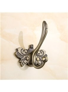 European and Retro StyleButterfly Pattern Zinc Alloy Wall Mounted Bathroom Hook