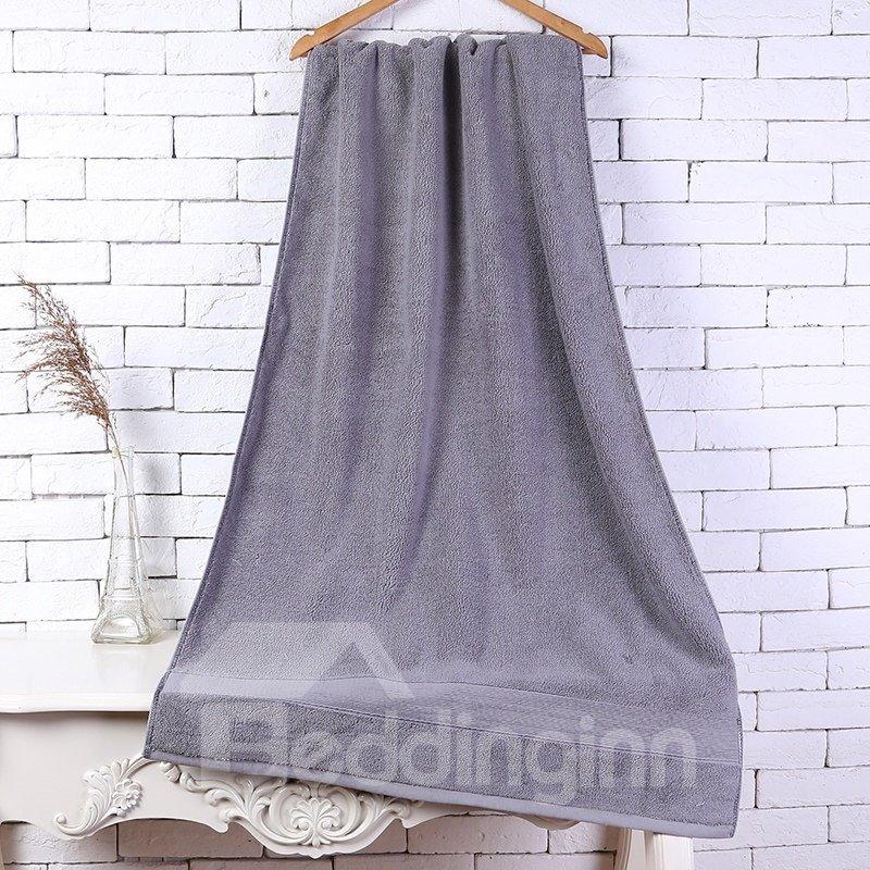 28-Inch-by-55-Inch Grey Soft Cotton Bath Towel