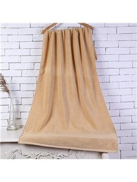 28-Inch-by-55-Inch Brown Soft Cotton Bath Towel