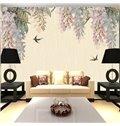 Trees and Birds TV/Sofa Background Waterproof 3D Wall Murals
