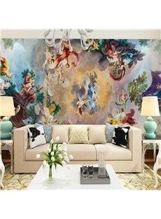 Stunning European Style God Pattern Design Waterproof 3D Wall Murals
