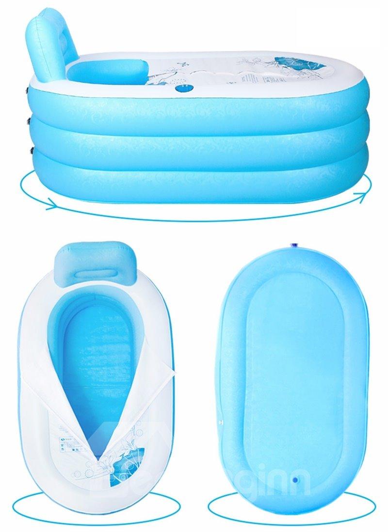 Portable Adult PVC Inflatable Bathtub with Air Pump - beddinginn.com