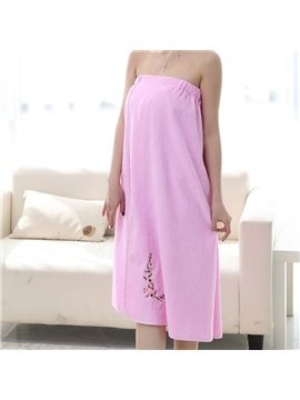 Strapless Spa / Bath Body Towel Wrap Pure Cotton Cover Up for Ladies