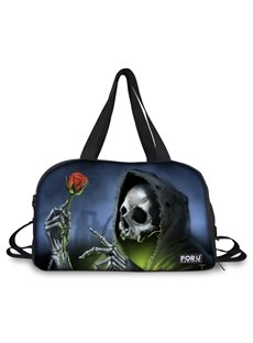 Unique Skull Sorcerer Pattern 3D Painted Travel Bag