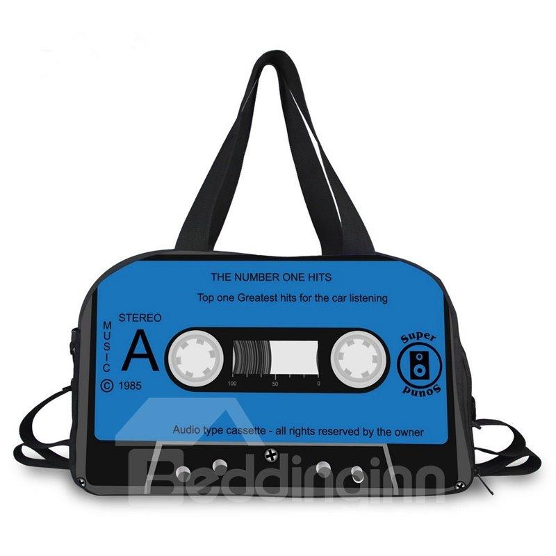 Vivid Tape Pattern 3D Painted Travel Bag