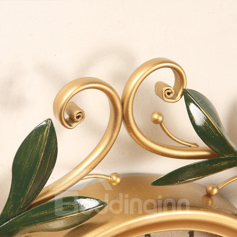 Country Style Creative Iron Branches Shape Design Waterproof 3D Wall Murals