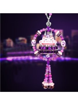 Magic Attractive Purple Color Creative Car Interior Pendant