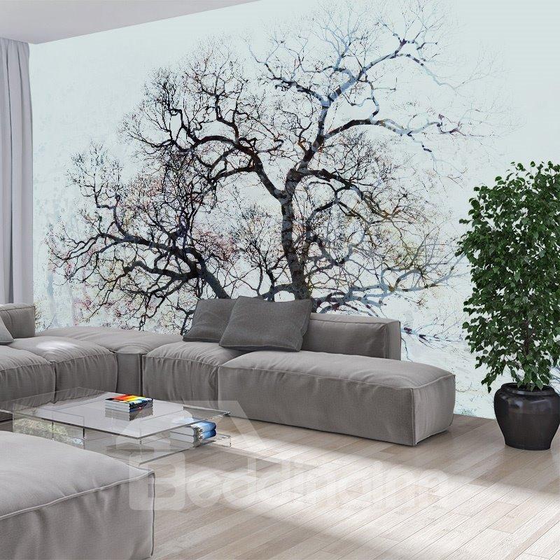 Flowers and Tree 3D Waterproof Wall Murals