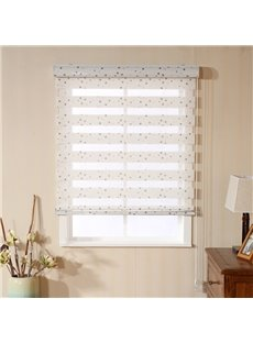 Cute Colorful Spots Printed Custom Sheer Shades
