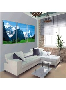 Special Design Jokul Scenery Pattern 3 Panels Ready to Hang Framed Wall Art Prints