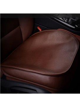 High-Grade Cattlehide Leather Material Durable 1-Piece Single Car Seat Mat