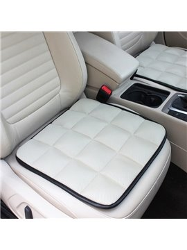 Free Bundle Grid Design Durable PET Material 1-Piece Single Front Seat Mat