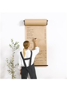 Stunning Creative Design Decorative Wall-mounted Kraft Paper Roll Dispenser