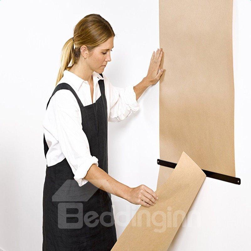 Beige Kraft Paper Creative Hanging Hand Painted Studio Roller