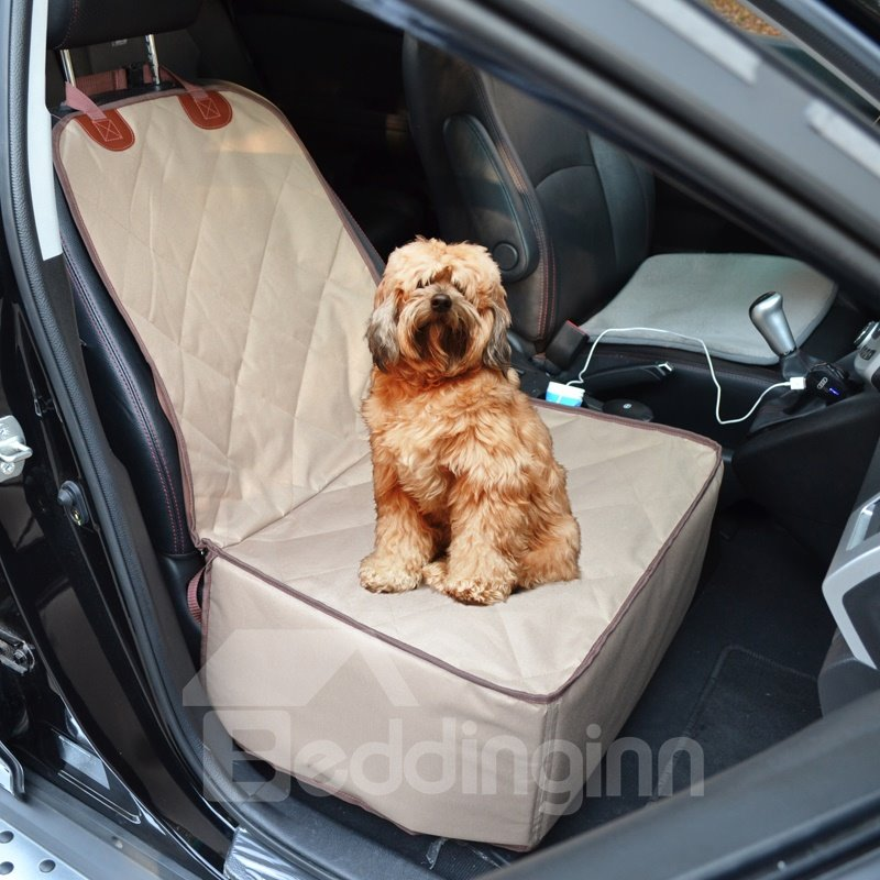 Durable Polyester Material Foldable Multi-Use Waterproof Universal Car Pet Mat