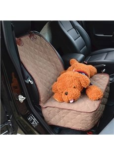 New Durable Suede Material Foldable Waterproof Universal Car Pet Mat