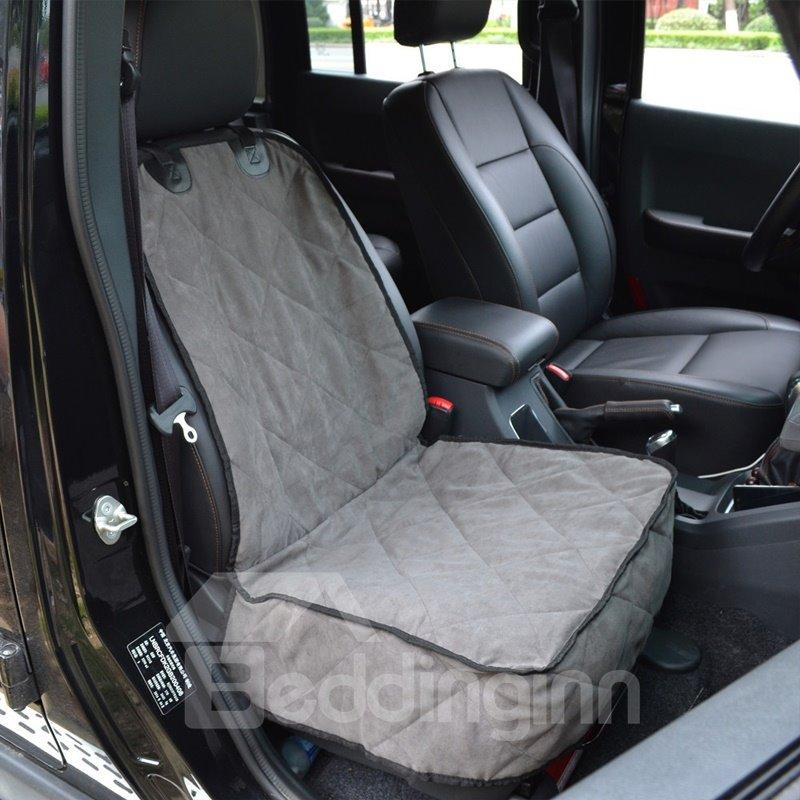 New Durable Suede Material Foldable Waterproof Universal Car Pet Mat