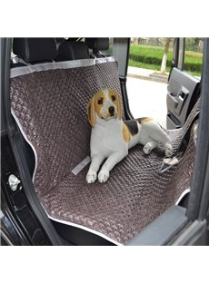 High-Grade Textured Durable PU Non-Slip Net Material Mixing Universal Car Pet Seat Mat