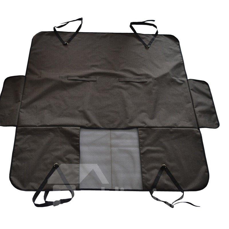 Deep Gray Special Design Large Size Waterproof Car Pet Mat