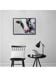 20×28in Cow Printed Hanging Canvas Waterproof and Eco-friendly Framed Prints