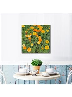 Simple Country Style Flowers Pattern Framed Wall Art Prints