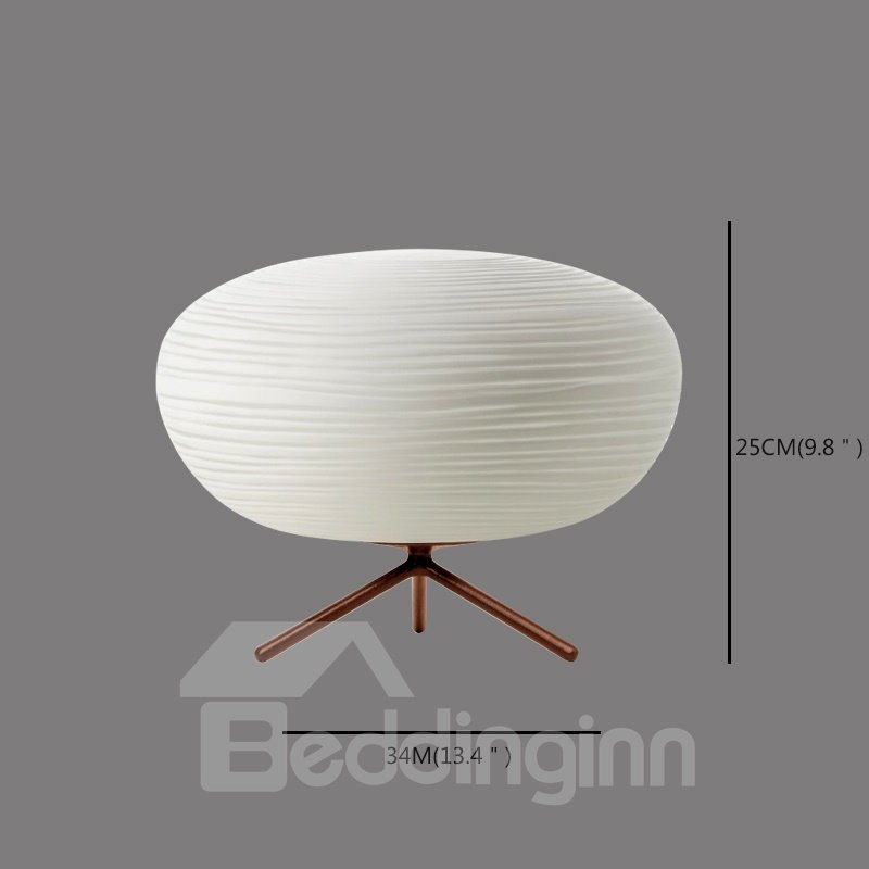 White European Style Oval Shape Design Room Decoration Table Lamp