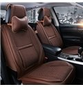 Classic Business Style Design Cost-Effective Solid Color Luxury Material Universal Five Car Seat Cover