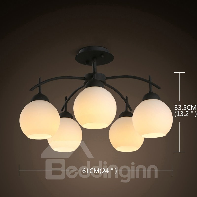 Amazing European Style Five Bulbs Durable Decorative Pendant Lights