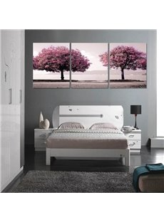 Wonderful Two Beautiful Trees Pattern Ready to Hang Framed Wall Art Prints