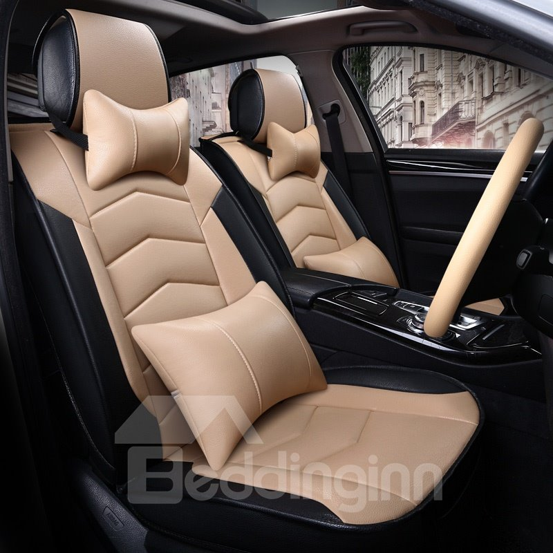 High-Grade Durable PVC Material Sport Style Universal Five Car Seat Cover