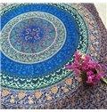 Marvelous Bohemian Style Mandala Pattern Print Versatile Cotton Sheet