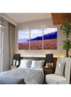 Creative Natural Scenery Pattern 3 Pieces Framed Wall Art Prints
