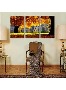 Amazing Autumn Tree Scenery Pattern Framed Wall Art Prints