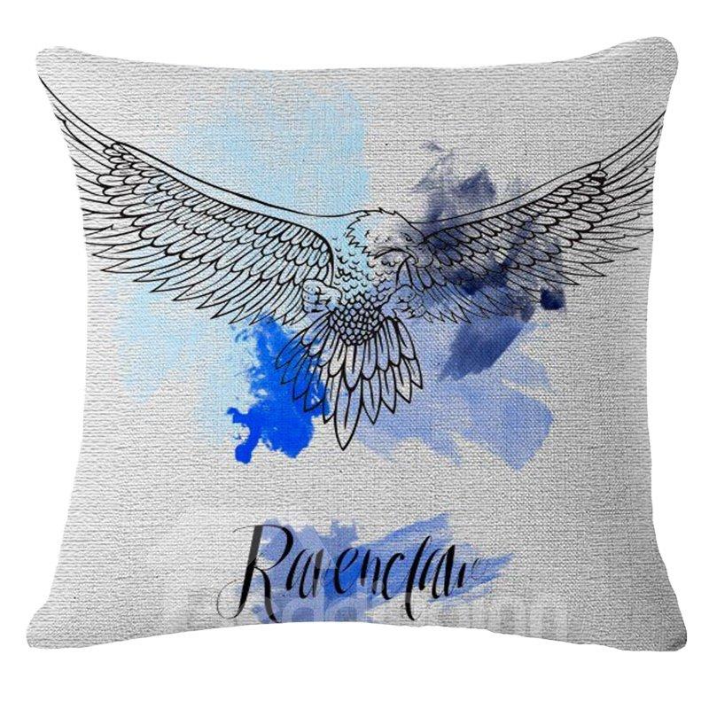 Stylish Colorful Animal Print Square Throw Pillow