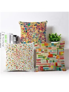 Chic Design Colorful PP Cotton Square Throw Pillow