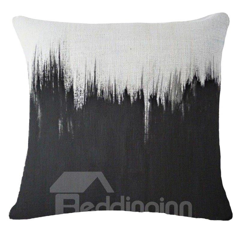Minimalist Style Artistic Design Square Throw Pillow