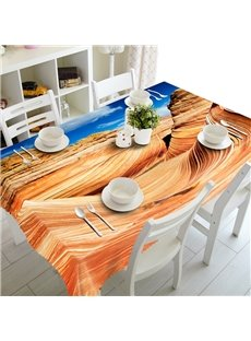 Magnificent Special Design Desert Prints Dining Room Decoration 3D Tablecloth