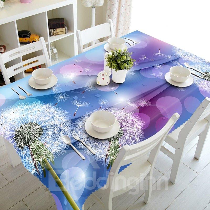 Stunning Dandelions Prints Design Dining Room Decoration 3D Tablecloth