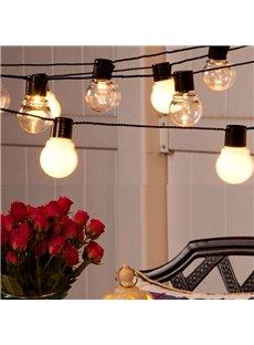 Stunning Ball Shape Room Decorative 16.4 Feet Length Plug LED String Lights