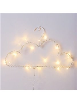 Fancy Warm Light 64.4 Inches Length Battery Decorative LED String Lights