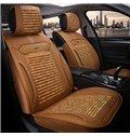 Comfortable Simple Flax&Natural fibers Material Car Seat Cover