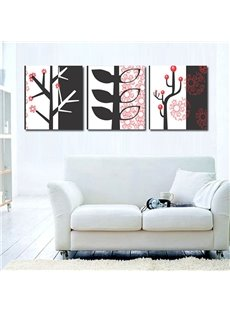 Simple Style Tree Pattern Ready to Hang None Framed 3 Pieces Wall Art Prints
