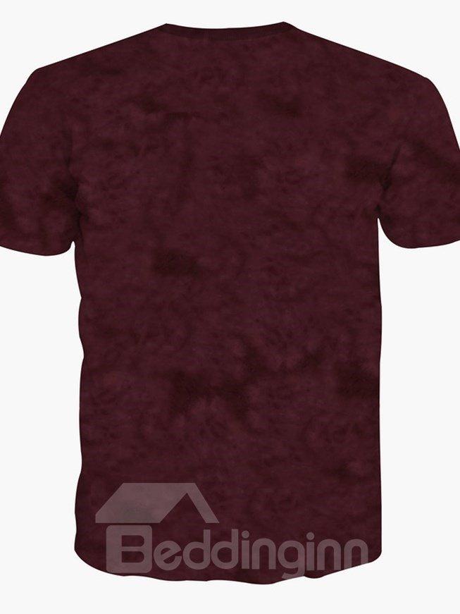 Adorable Baby Orangutans Pattern 3D Painted T-Shirt