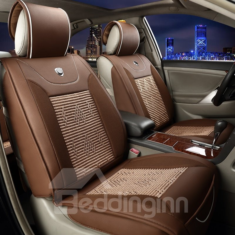 Durable In Use Business Ice Silk And Rayon Cost-Effective Car Seat Covers
