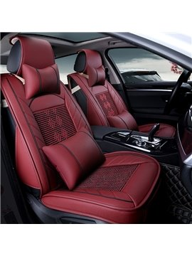 Permeability Superior Quality Finely Processed Cool Luxurious Car Seat Covers