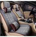 Permeable Ice Silk And Rayon Solid Durable Universal Car Seat Covers