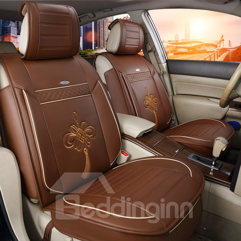 Cozy Rubbing Genuine Leather Colorful Cost-Effective Car Seat Covers