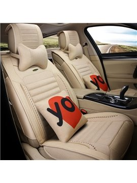 Classic Simple Patterns Casual Business Style Universal Car Seat Covers